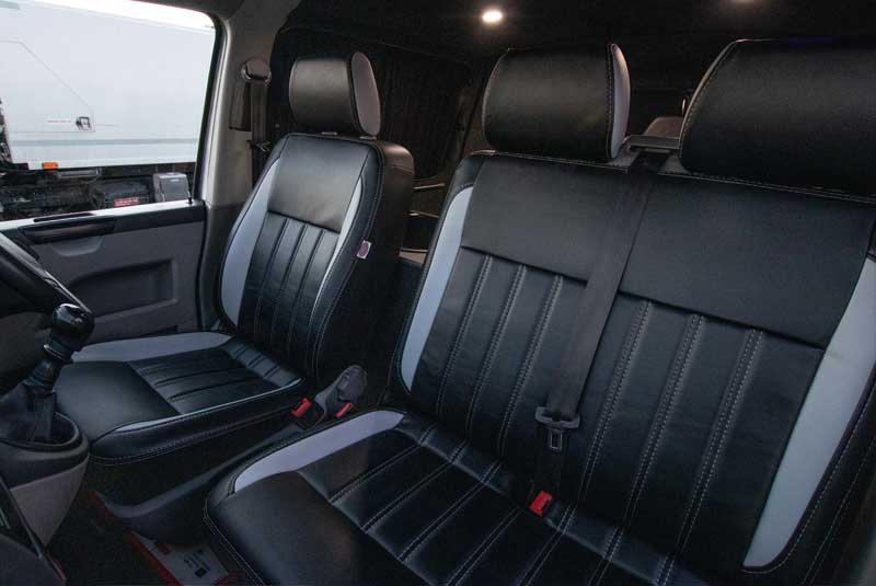 VW Transporter T5 140bhp Camper - Front seats