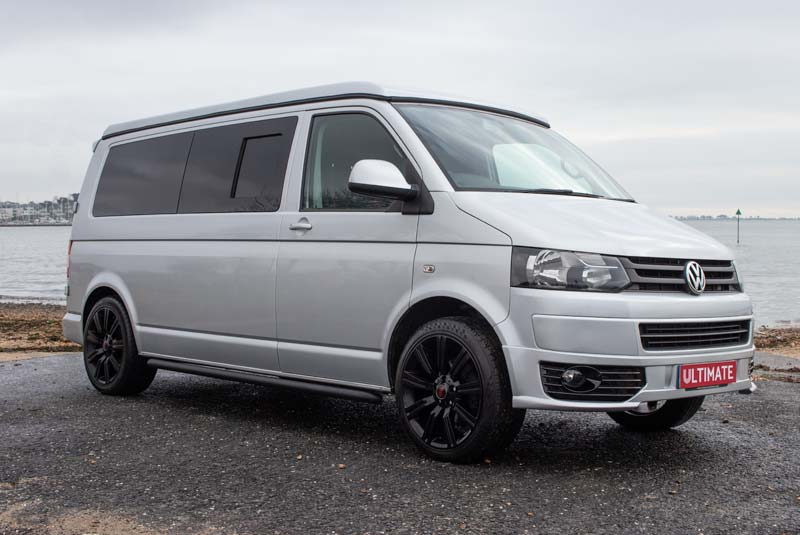 VW Transporter T5 140bhp Camper LWB - Front Right
