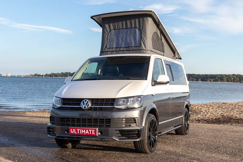 VW Transporter T6 140bhp Camper SWB - Front Left Roof Up