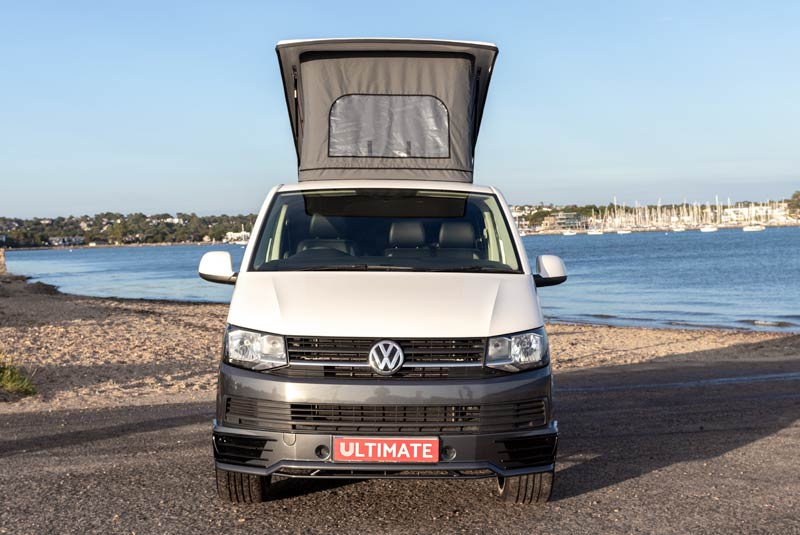 VW Transporter T6 140bhp Camper SWB - Front Roof Up