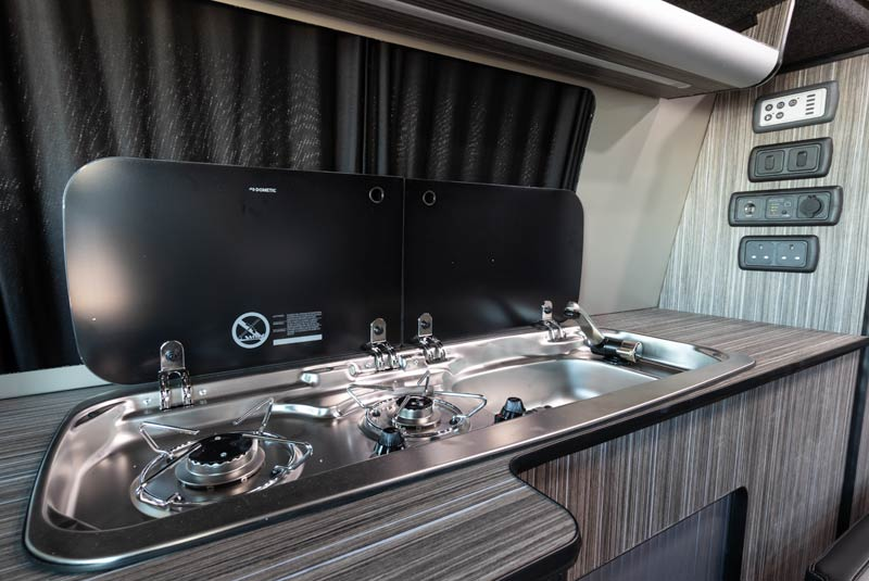 VW Transporter T6 140bhp Camper SWB - Kitchen