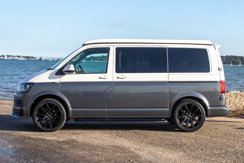 VW Transporter T6 140bhp Camper SWB - Left Side