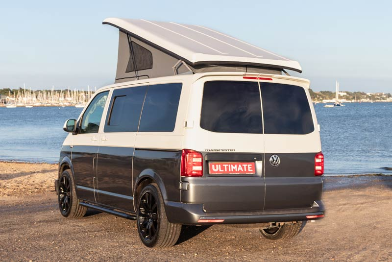 VW Transporter T6 140bhp Camper SWB - Rear Left Side Roof Up
