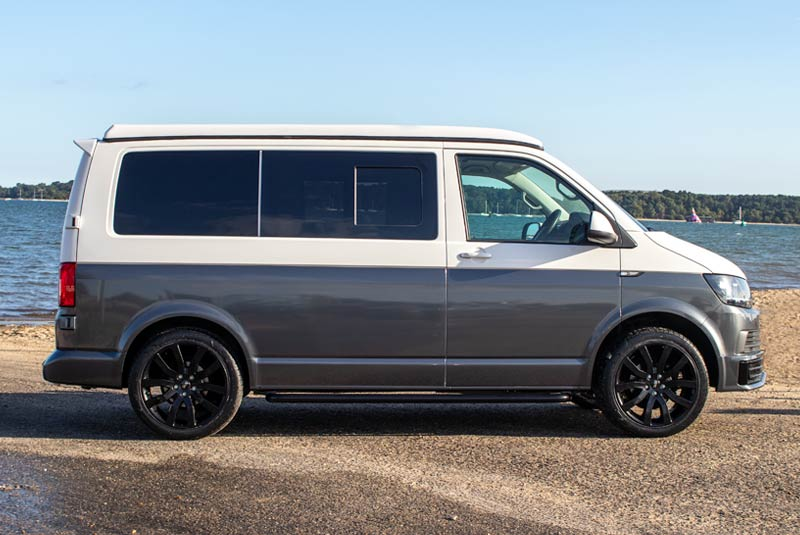 VW Transporter T6 140bhp Camper SWB - Right Side