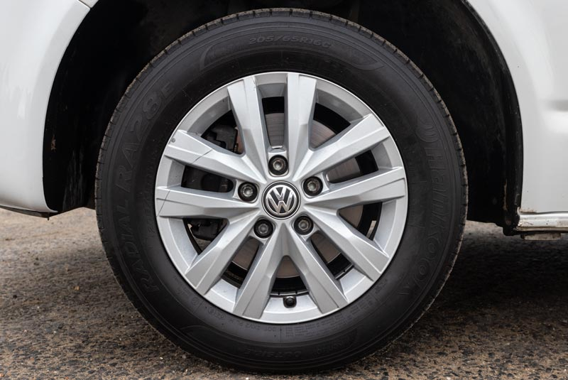 VW Transporter T5 125bhp Camper - Wheels