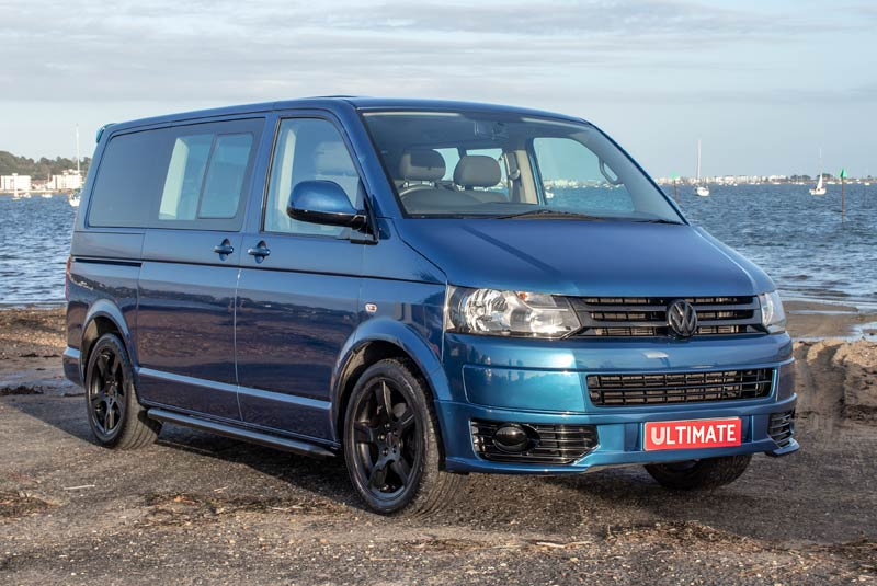 VW Transporter T5 125bhp Caravelle SWB - Front Right