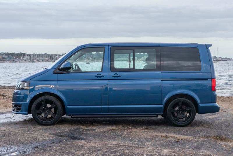 VW Transporter T5 125bhp Caravelle SWB - Left Side