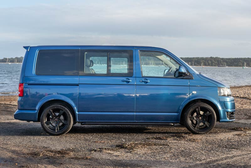 VW Transporter T5 125bhp Caravelle SWB - Right Side
