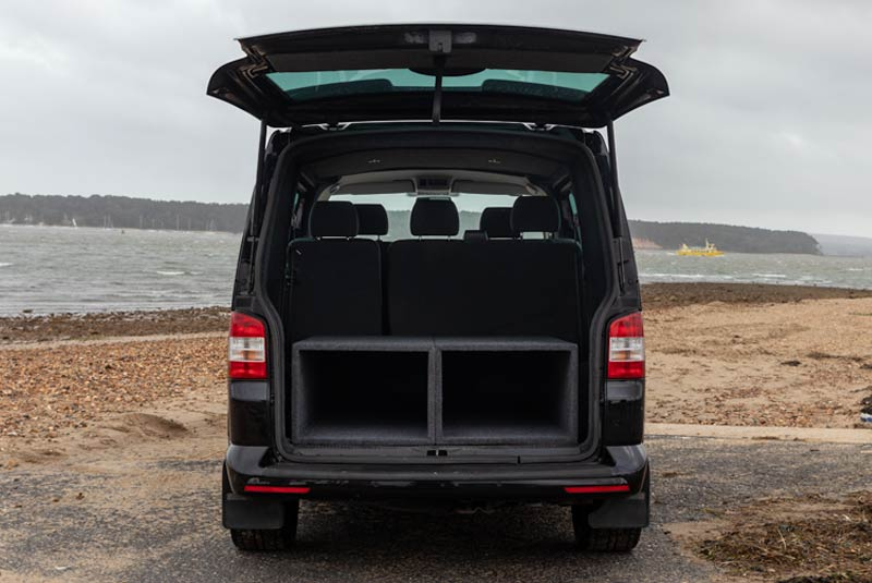 VW Transporter T5 180bhp Kombi SWB - Rear Doors Open
