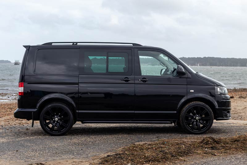 VW Transporter T5 180bhp Kombi SWB - Right Side