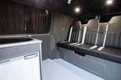 DE13NNV VW Transporter Rear interior