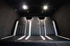 DE13NNV VW Transporter Rear seats