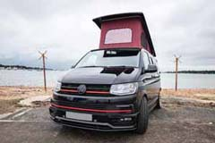 GN16TZR VW Transporter Front left roof up