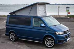 GX14UBJ VW Transporter Right side roof up