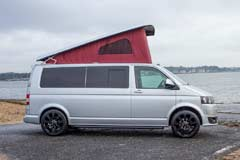 GH150RG VW T5 Roof Up