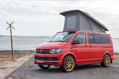 PJ16CCU VW Flame Red Pop Top