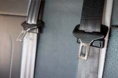 LD65HXB Seatbelts